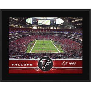 Atlanta Falcons Fanatics Authentic 10″ x 13″ Sublimated Team Plaque