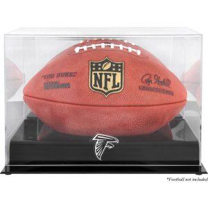 Atlanta Falcons Fanatics Authentic Black Base Football Logo Display Case with Mirror Back