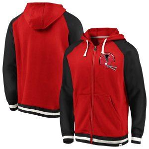 Atlanta Falcons NFL Pro Line by Fanatics Branded True Classics Full-Zip Hoodie