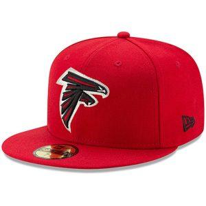 Men's Atlanta Falcons New Era Red Omaha 59FIFTY Hat