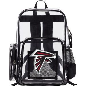 Atlanta Falcons The Northwest Company Dimension Clear Backpack