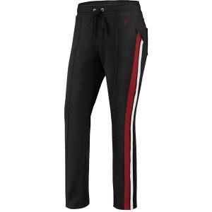 Women's Atlanta Falcons WEAR By Erin Andrews Black Track Pants