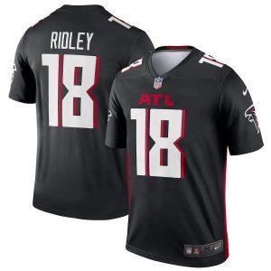 Men's Atlanta Falcons Calvin Ridley Nike Black Legend Jersey