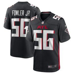 Men's Atlanta Falcons Dante Fowler Jr. Nike Black Game Jersey