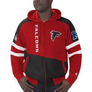 Men's Atlanta Falcons Starter Extreme Full-Zip Hoodie