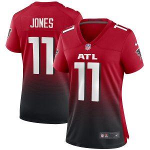 Women's Atlanta Falcons Julio Jones Nike Red 2nd Alternate Game Jersey